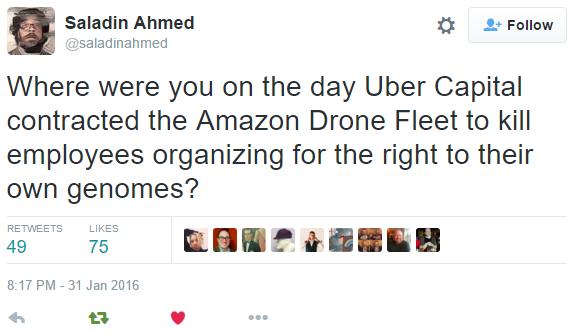 Saladin Ahmed on Twitter