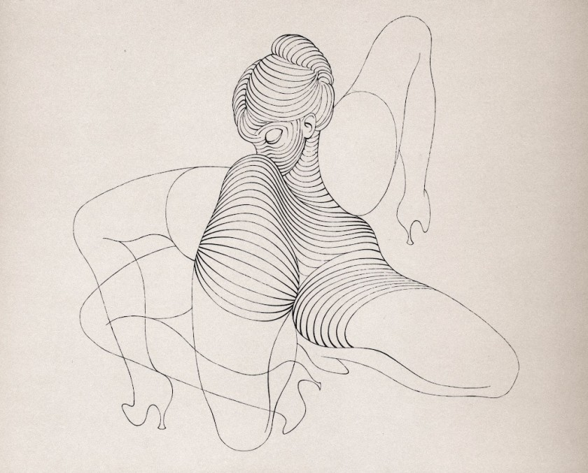 drawing by Hans Bellmer