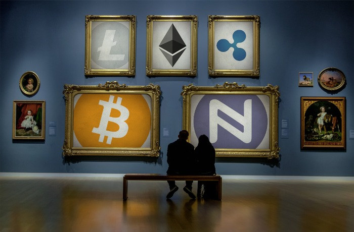 Cryptocurrency Art Gallery by Namecoin.