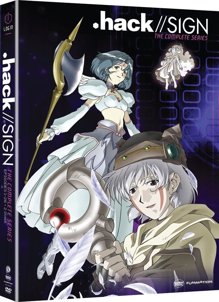 .hack//Sign cyberpunk anime