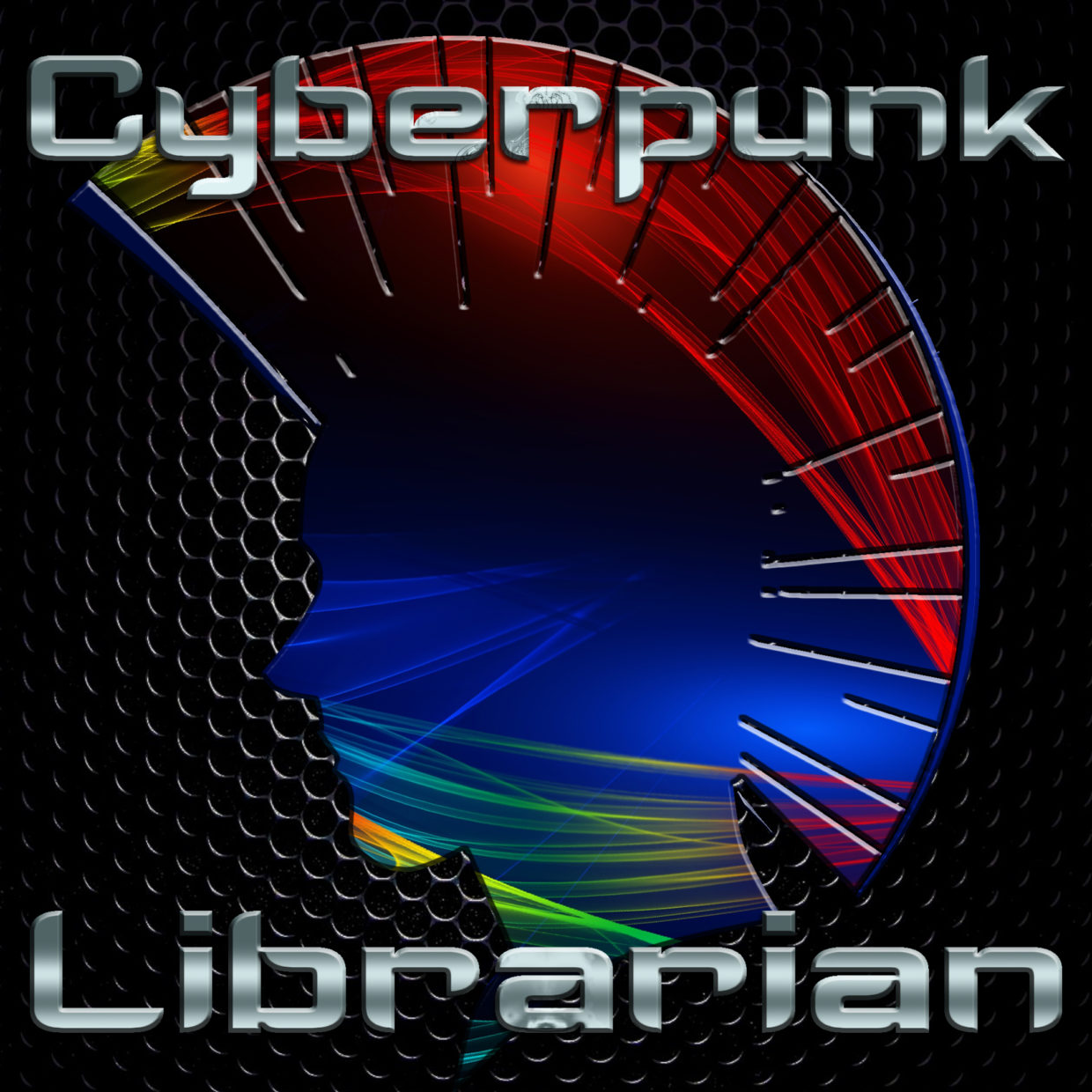 Cyberpunk Librarian podcast logo