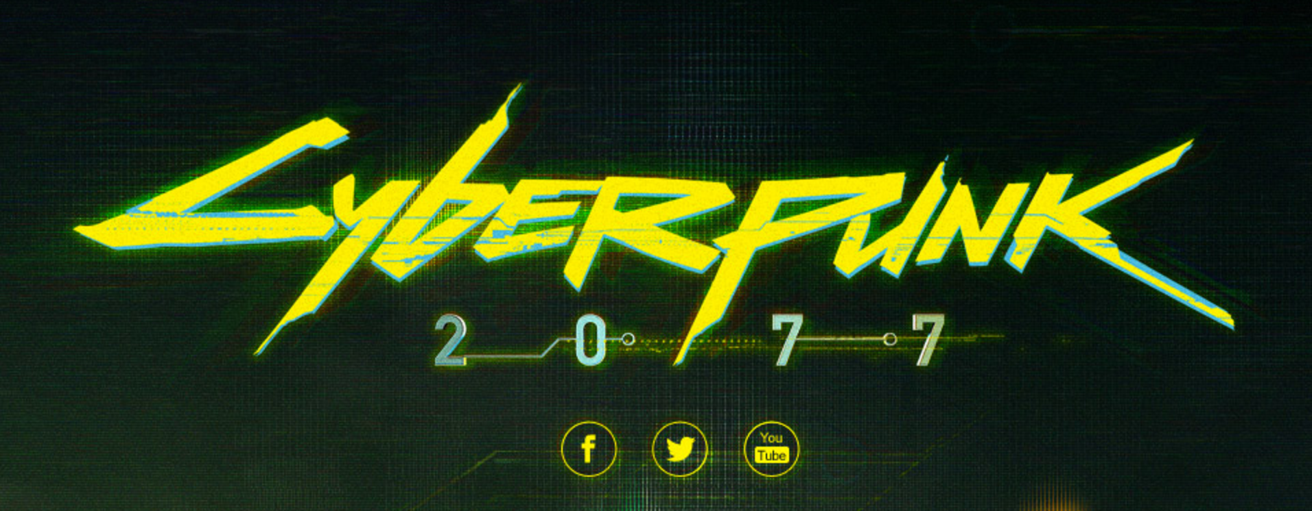 Cyberpunk 2077 game logo.