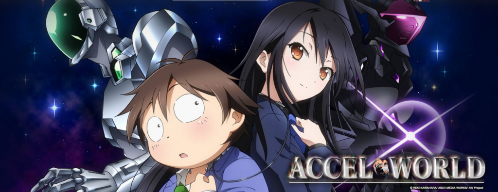 Accel World cyberpunk anime