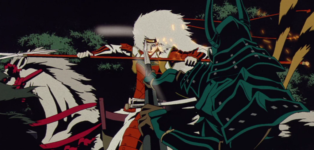 A screenshot from Animatrix