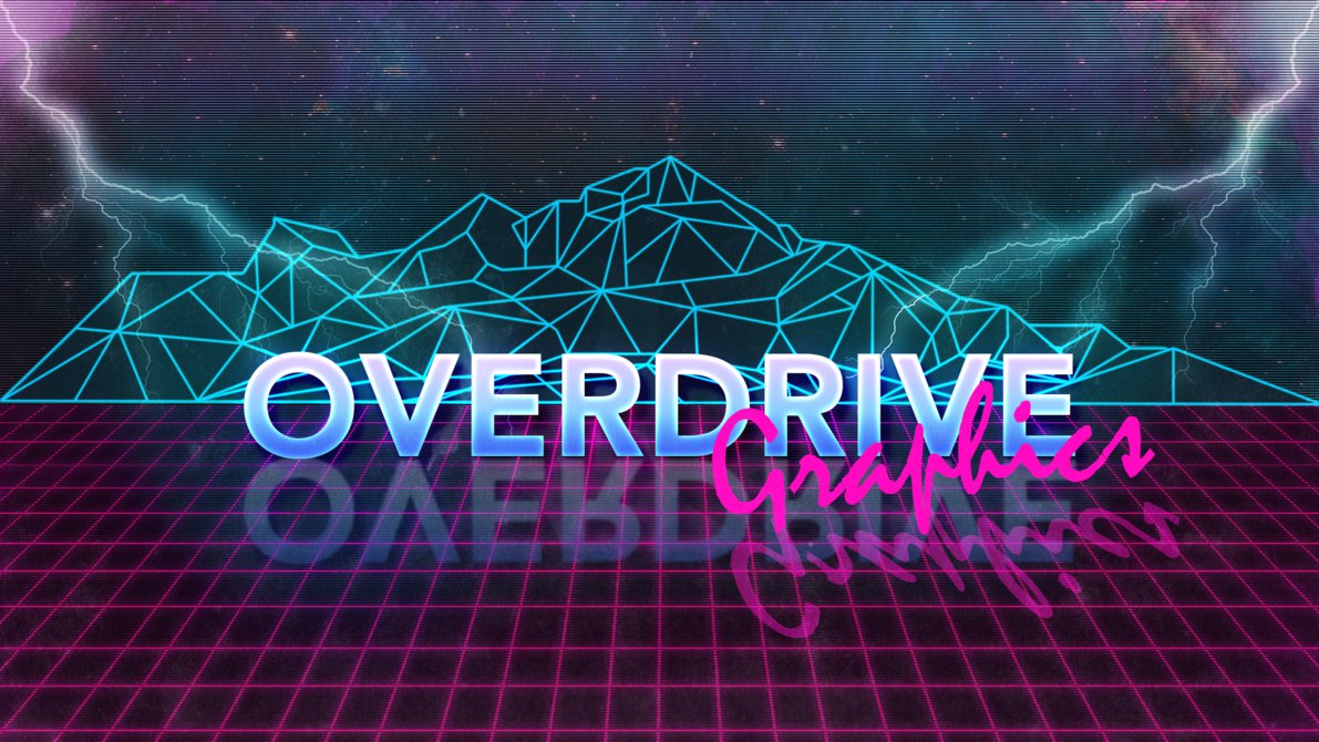 Cyberpunk logo by Overdrive Graphics.