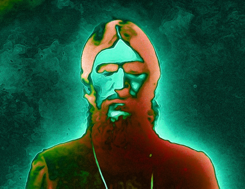 Cyber portrait of Rasputin. Artwork by ReclusiveChicken.