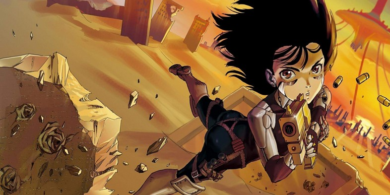 Battle Angel Alita cyberpunk anime