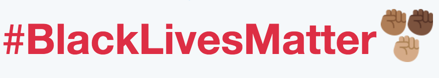 Twitter's custom #BlackLivesMatter hashtag emoji