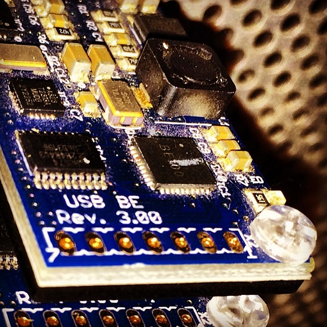 Bitcoin mining chip. Photo by Pantelis Roussakis.