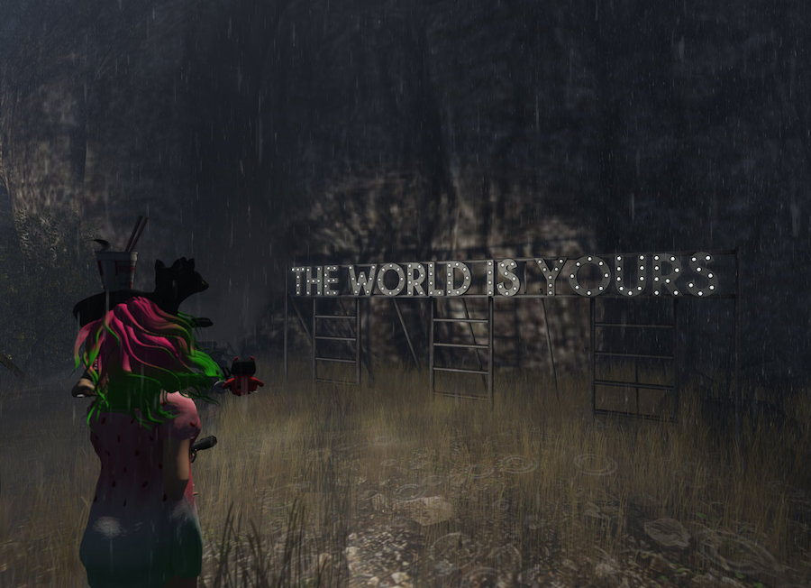 The world is yours! Screenshot by ▓▒░ TORLEY ░▒▓.