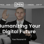 screenshot of oben.com